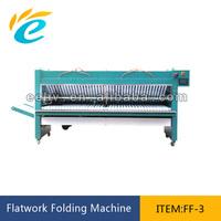 Industrial bedsheet folding machine for hotel/hospital/laundry shop