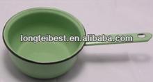 Plain enamel water ladle&bailer