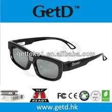 2013 Newest Mini dlp 3d glasses 3D Home LED Projector + Free one 3D Shutter Glasses