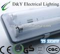 t5 fluorescentes resistente a la intemperie de la lámpara de iluminación led de cristal