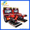 Crazy indoor racing Nail'd Motor racing simulator machine