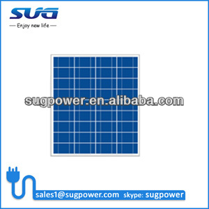50W 12V solar photovoltaic panel