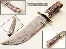 Custom Damascus Handmade Razor Sharp Knives SGDF U