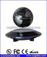 Hot sell base technology magnetic levitating globe turning&rotating world globe display levitron