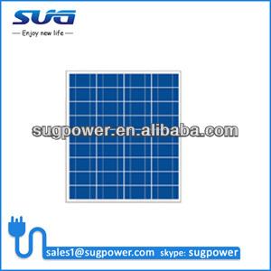 12v pv solar panel, 50W 12V solar photovoltaic panel