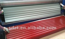 Building material color corrugated roofing sheet