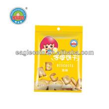 60g Baby Food Biscuits Healthy Food Jessica Alphabet Biscuits Original Flavor High Calcium