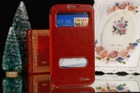 High quality case for Samsung galaxy Note 2 N7100 PU leather Flip case cover MOQ 50PCS each color