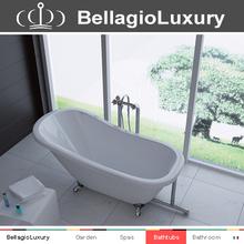 Acrylic Bath High Tiger Claw Feet Simple Bath tub