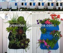 creare pareti verdi lussureggiante giardino verticale modulare fioriera ingrosso