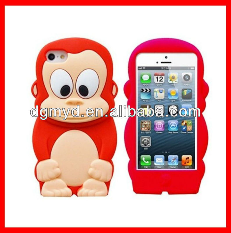 Cheap Silicone Western Cell Phone Cases for iphone4/4s/5