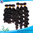 Hot beautiful virgin indian weft 100 hair extension