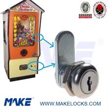 High Security Furniture Flat Key Cam Lock for fun chicken machine