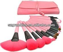 Grandtek Brand 22 pcs Pro pink Make Up Makeup Brush Set Cosmetic Makeup Brushes Kit With Bag