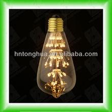 edison lampadina led st64 vintage