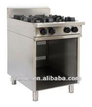 High Quality Restaurant Commercial 4 Burner Cooking Range Hot Sale