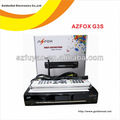 Digital por satélite receptor de internet azclass/azfox iks con decodificador sks nagra3 estable que bravissimo azbox hd tocomsat