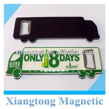 Popular Fancy Advertising Car Shape Fridge Magnetic Bottle Opener / Magnetic Beer Opener