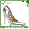Beautiful Design Silver High Heels Shoes,Pumps High Heel Shoe