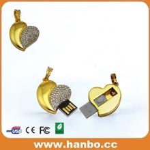 no minimum order wholesale price minion blue color heart shape usb flash drive usb disk usb flash memory