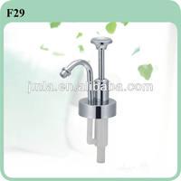 long nozzle lotion pump/ metal lotion pump dispenser F29