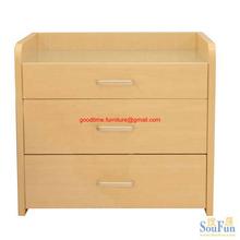 wooden drawer chest, chipboard drawer chest, melamine drawer chest