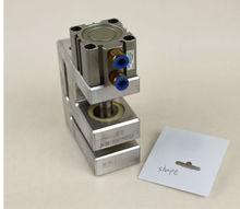 customized hole shape electric hole punching machine