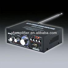 class d digital line array amplifier YT-698D with usb/sd