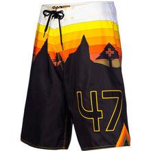 Mens Swim Palm Trees Floral Shorts Beach Hawaiian shorts Summer Mesh Lined
