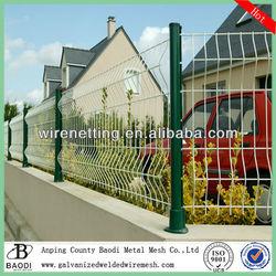 decorative metal fences panels (Baodi Manufacture ISO9001:2000)