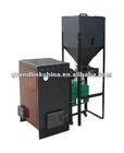 Home hot water small biomass pellet boiler