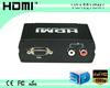 Computer Monitor VGA to HDMI HDTV 1080P AV TV Converter Adapter Box