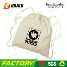 drawstring bag, cotton drawstring bag, organic cotton drawstring shoe bag DKMSB-885
