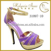 Holywin 2014 new summer fashion ladies high heel shoes woman high heel sandals