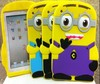"eyes Despicable Me 2 Minions silicone soft case cover For Ipad MINI 7""tablet"