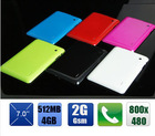 7inch tablet pc A13 single core 1.2 ghz android 4.0 tablet pc with bluetooth/OTG/phone call function