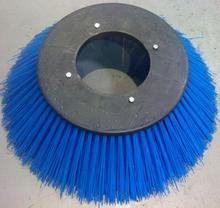 Plastic Back Blue Color PP bristles Sweeper Brush