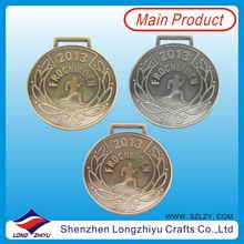 Race medals OEM Custom Round medal award medallion badge 100% manufacture