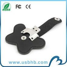 new design leather usb flash drives/64gb usb3.0