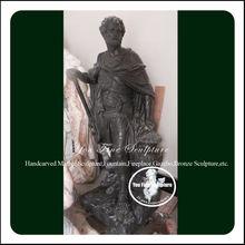 Black Marble famous roman sculpture