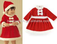 Little Miss Baby Girls Santa' S Helper Children Christmas Costume Holiday Dresses Xmas Gift