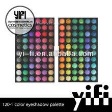 Cosmetics wholesale! 120 color eyeshadow palette cool eyeshadow