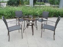 D-commercial bistro table set CF720T+GS3003