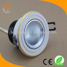 factory price natural white round led downlight 5w 220v 230v cob spot led lamp