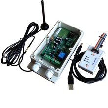GSM Sliding Gate Opener quad band design Switch relay output