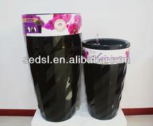 outdoor diamond similar flower stand,plastic pots,charming garden pot
