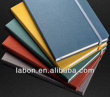 A5 fabric clear cover notebook