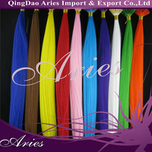 Print Stick I tip Pre-bonded Feather hair extensions extension kit 100strands lot
