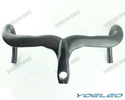 2014 Top Quality YOELEO Integrated Carbon Handlebars Road Bike