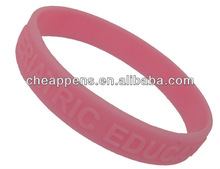 promotional wrist band silicone